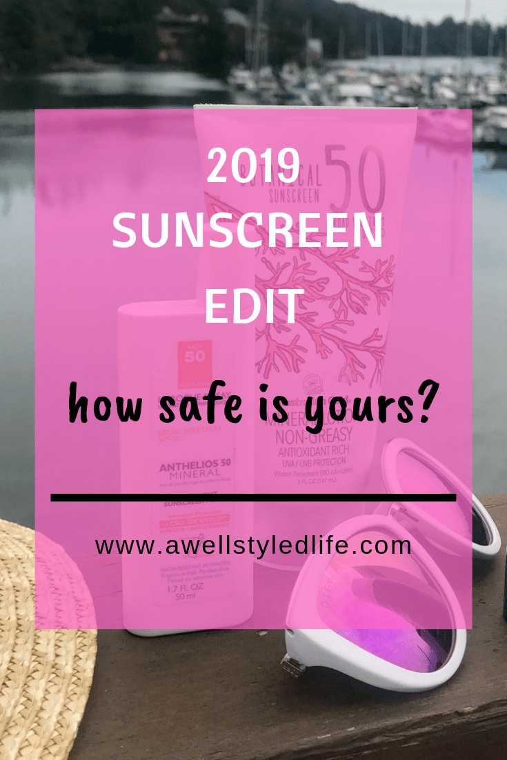 2019 Sunscreen Update: How Safe is Yours?