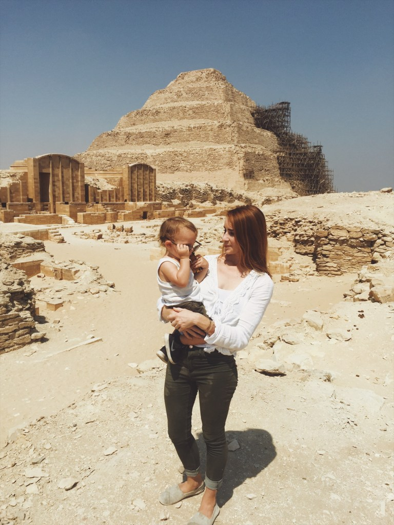 Egypt: Saqqara pyramid