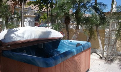 Fill up the Jacuzzi and Relax