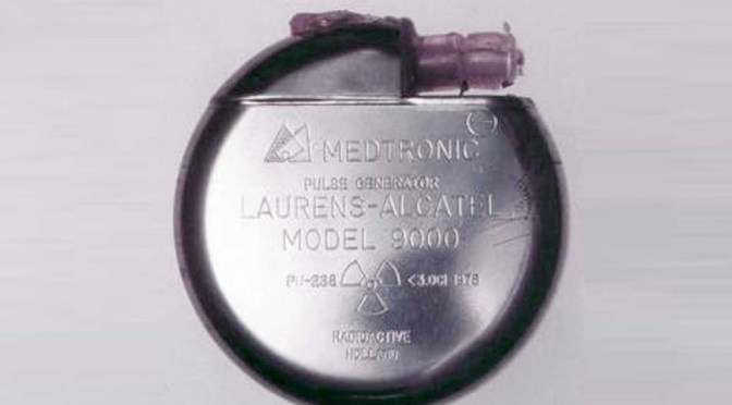 Nuclear Powered Pacemakers for the Heart