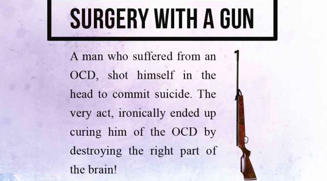 surgery with a gun or suicide