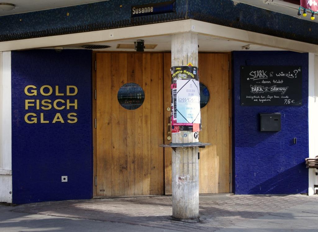 Goldfischglas Hamburg CC awesomatik.com