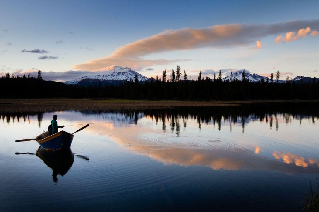 Hosmer lake reflection