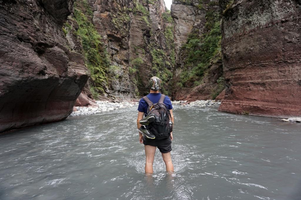 Abenteuerwanderung ins Herz der roten Schlucht