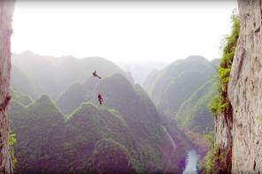 Getting Up Getu Screencap - Jimmy Chin