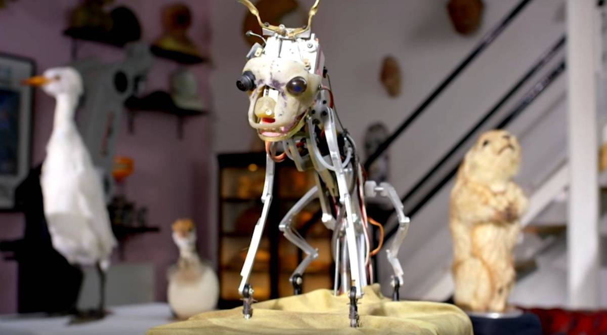 Gruselig! Roboterspione im Tierreich