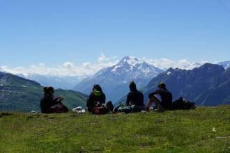 Auf dem GR 5 über die Alpen