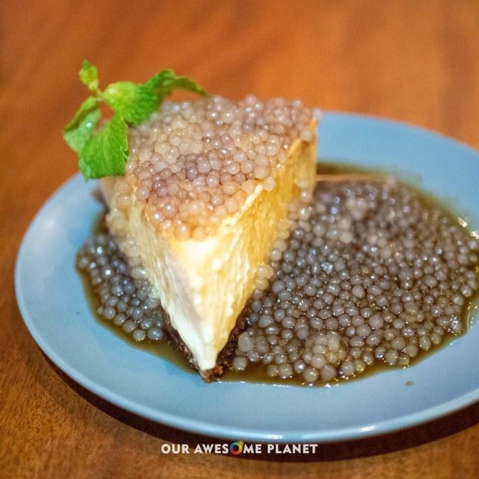Taho Cheesecake