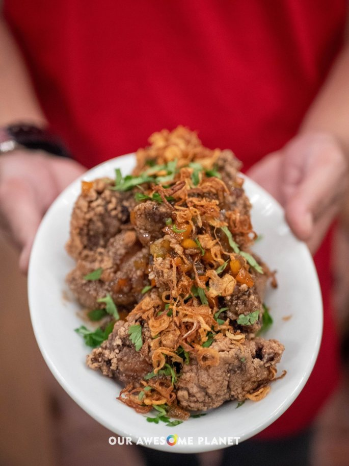 Suon Khia (Pork Ribs)