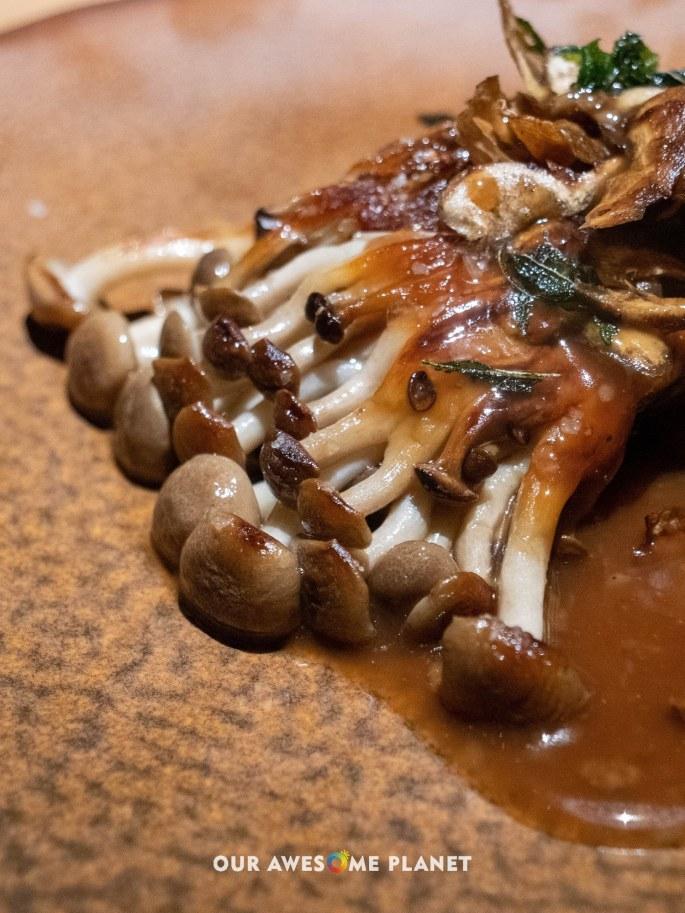 Beech mushroom, yeast, Jerusalem artichoke