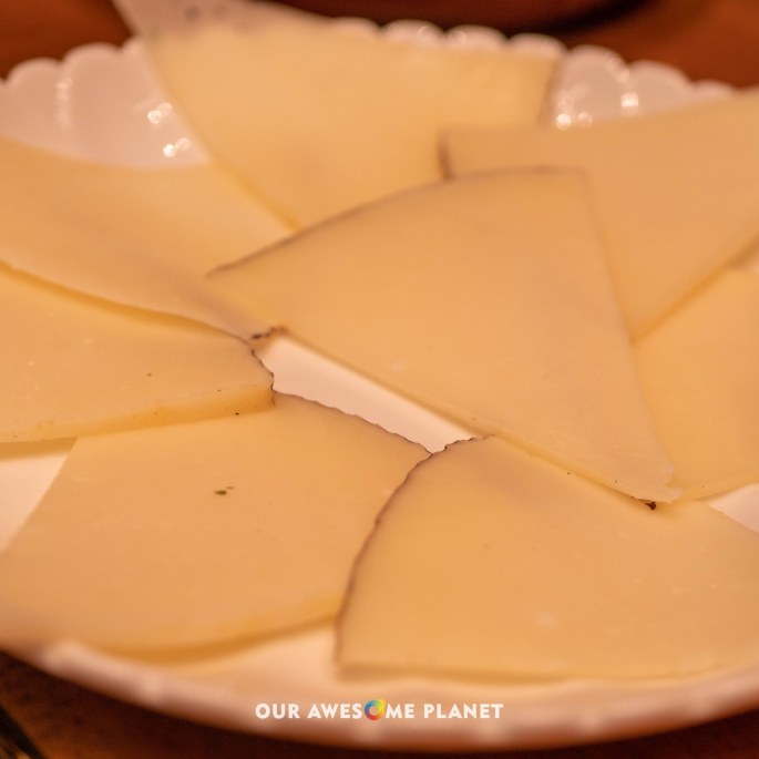 Manchego Plate