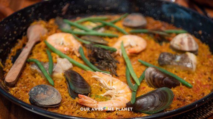 Seafood Marinera Fideua