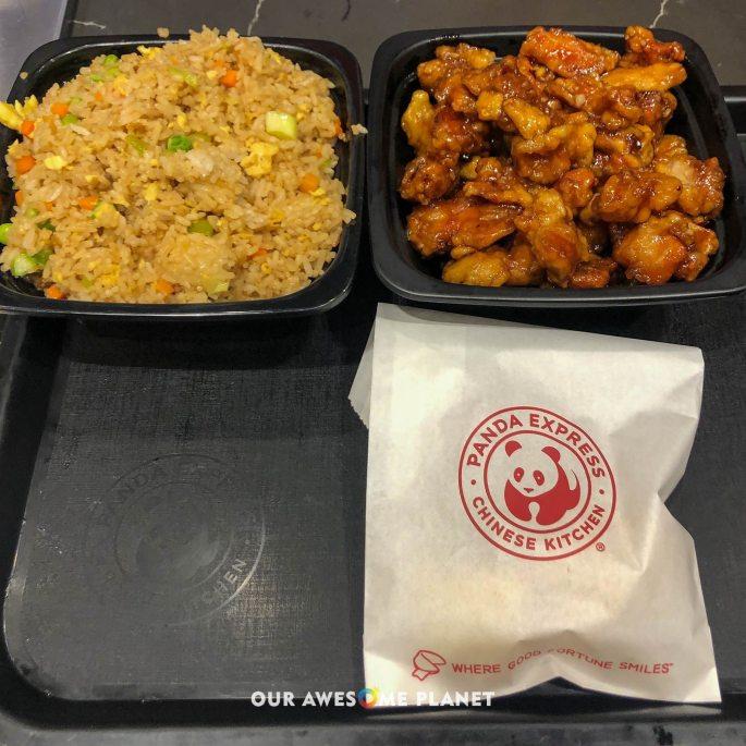 Orange Chicken & Fried Rice