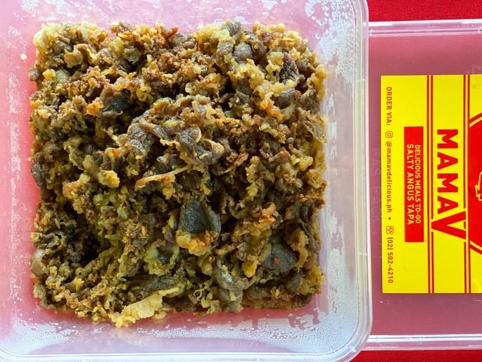 Salty Angus Beef Tapa (Small - ₱600, Medium - ₱1,020, Large - ₱1,440)