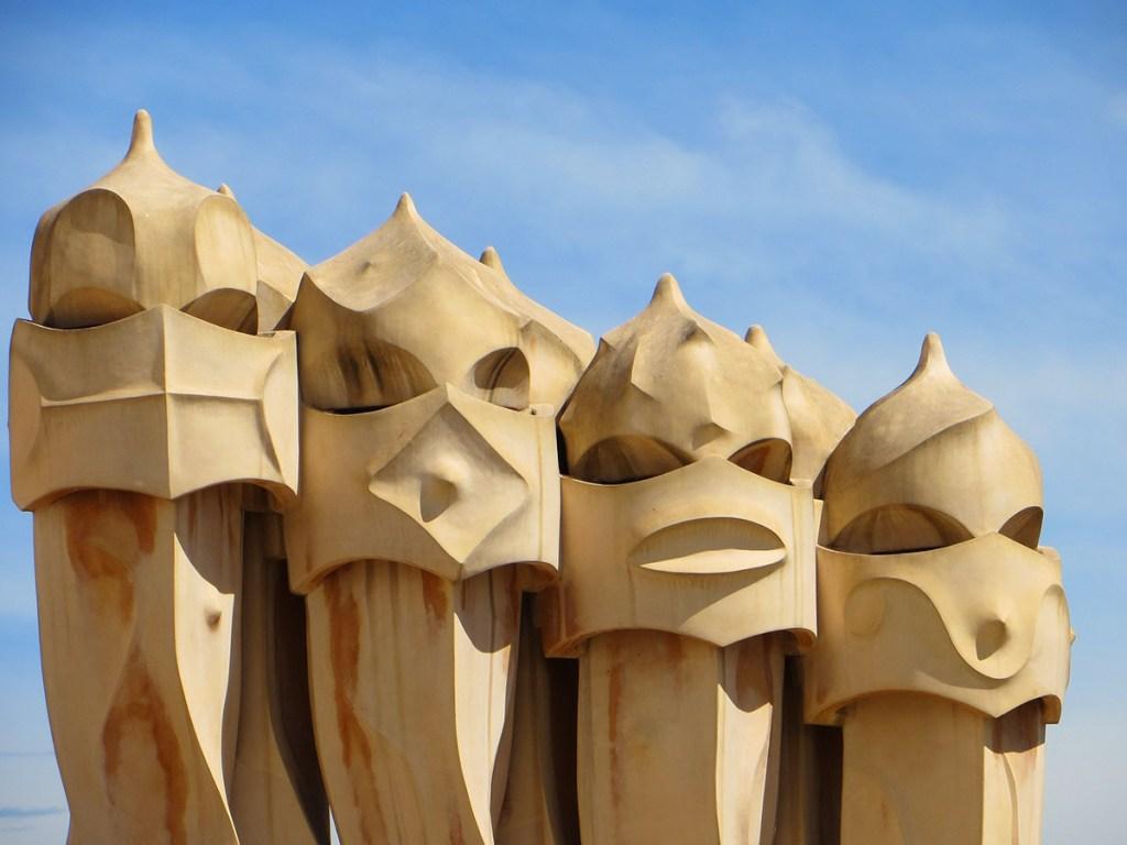 5 Gaudi Sights to See in Spain: Casa Mila