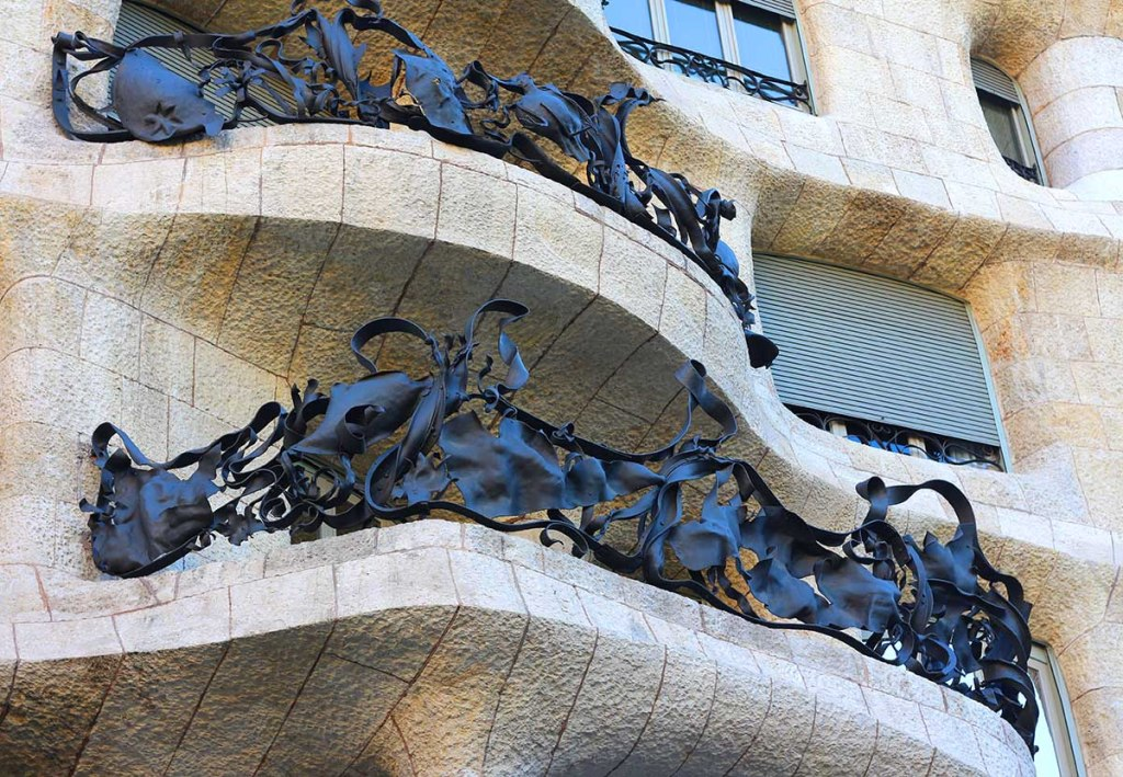 5 Gaudi Sights to See in Spain: Casa Mila