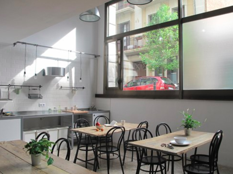 10 Best Barcelona Hostels: best affordable places to stay in Barcelona Spain: jam hostel barcelona