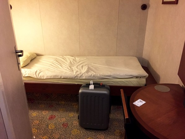 Brittany Ferries cabin