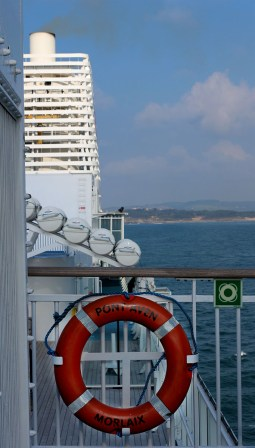 Take a Ferry from England to Spain - much more fun than flying - ferry from Portsmouth to Santander or Bilbao
