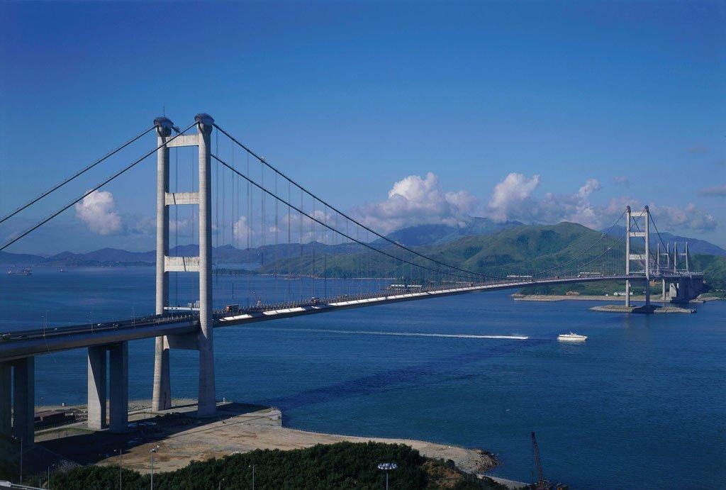 Tsing Ma Bridge China