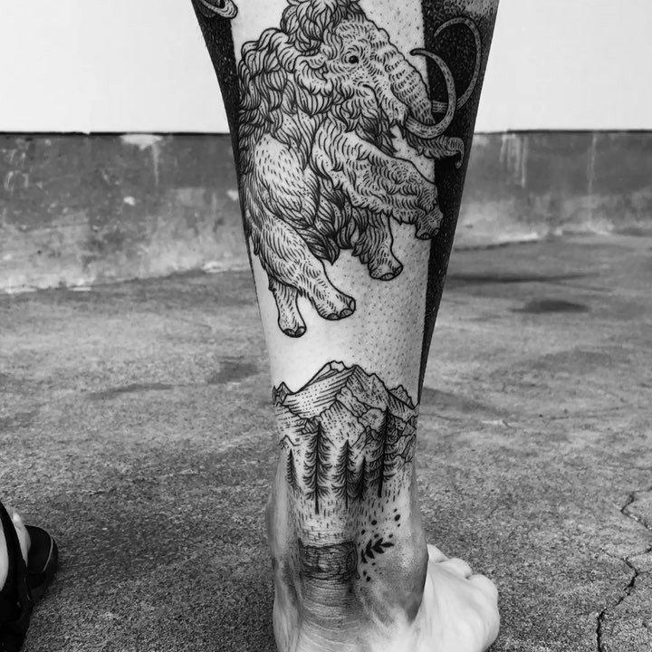 Pony Reinhardt Tattoo 8