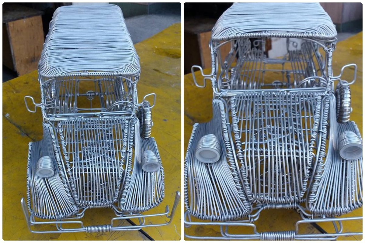 52-Year-Old Filipino Sets The Social Media Abuzz By His Incredible Creations Made From Aluminum Wires image 9