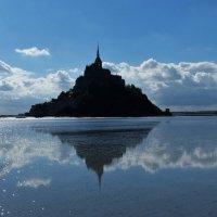 Quicksands Of Mont Saint Michael, Normandy Making The Place A Unique Tourism Spot