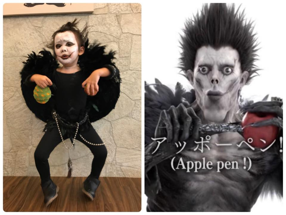luke & l death note halloween costume 1