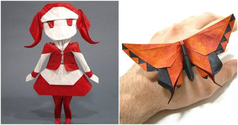 Real Looking Paper Figures Catapults This Origami Artist To Fame