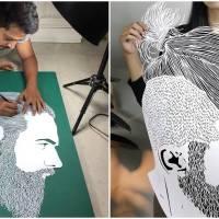 Unique Paper Cut Art Sets This Incredible Paper Cut Artist Apart From The Rest