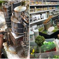 Artist Recreates Realistic Miniature Dioramas From His Customers' Childhood Memories