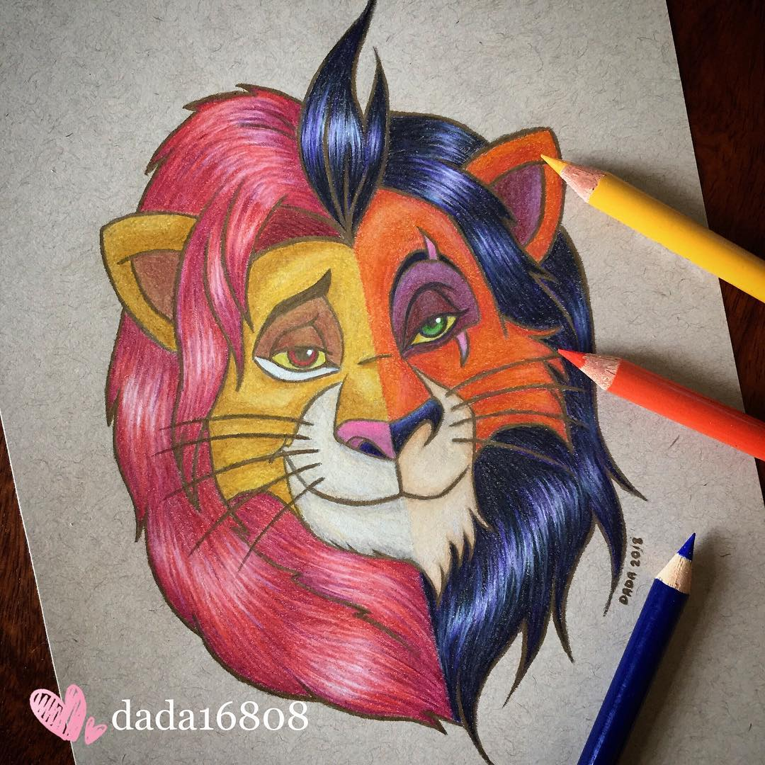 dada artworks the lion king