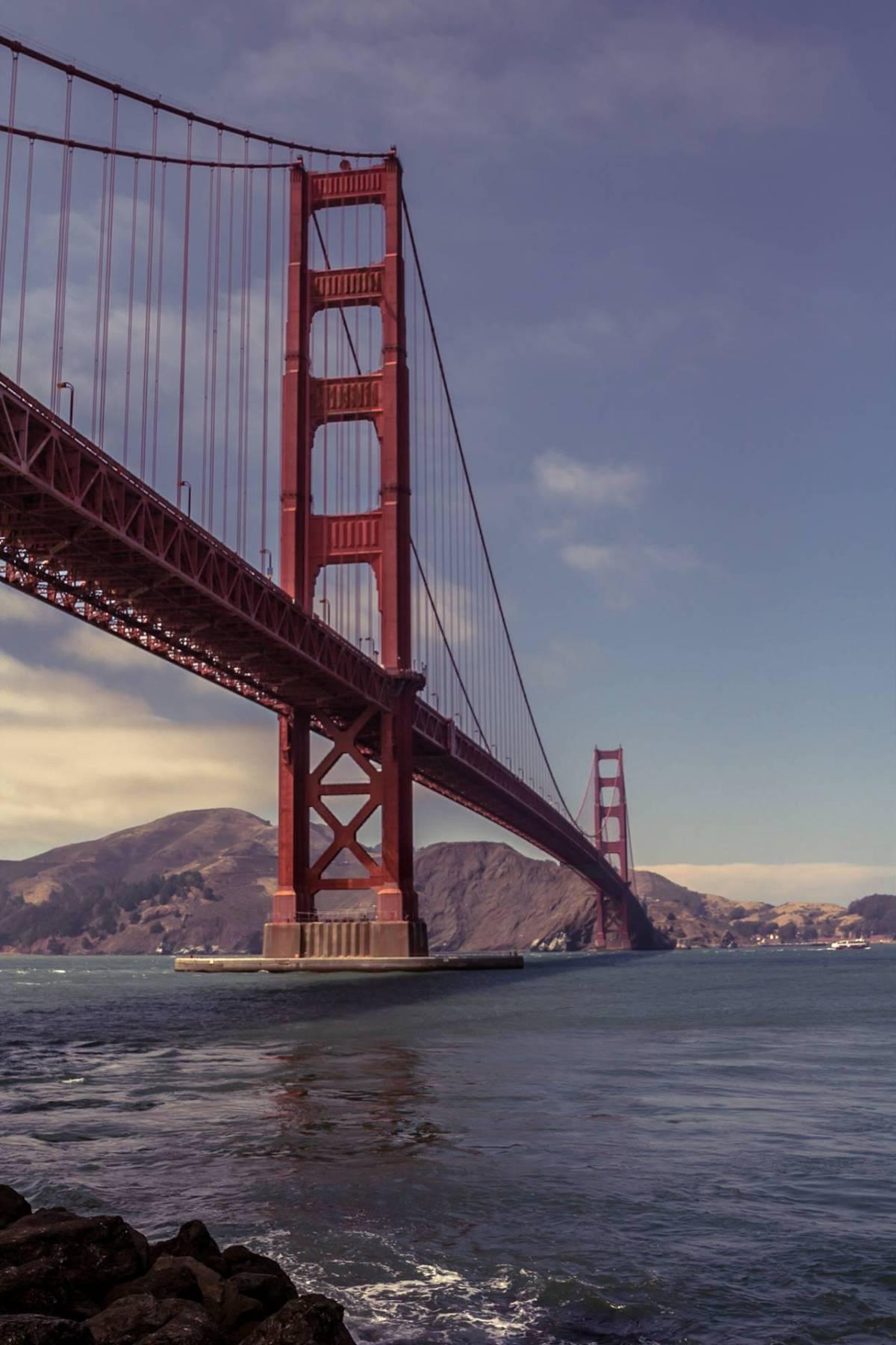 golden gate bridge height