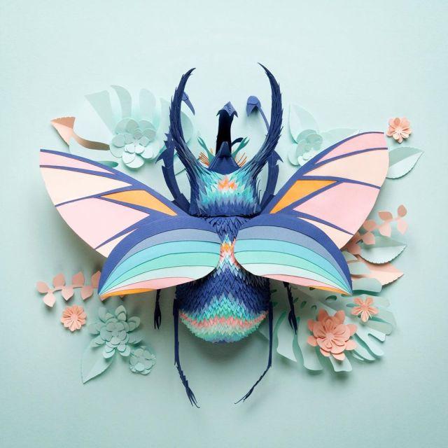 Lisa Lloyd Paper Sculptor 5