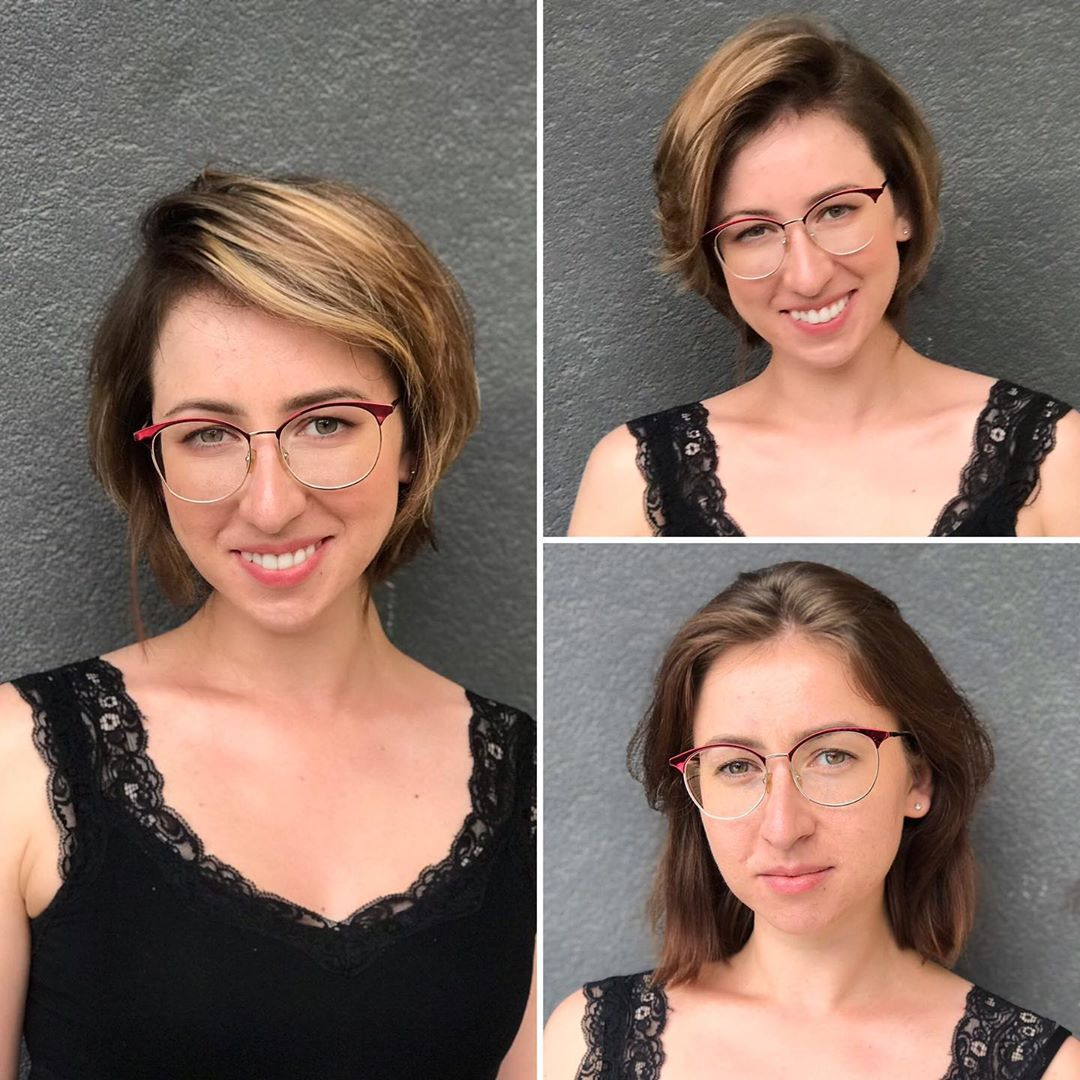 Hairstylist Boosts Her Clients' Self-Esteem By Choosing The Most Appropriate Hairstyles Image 11