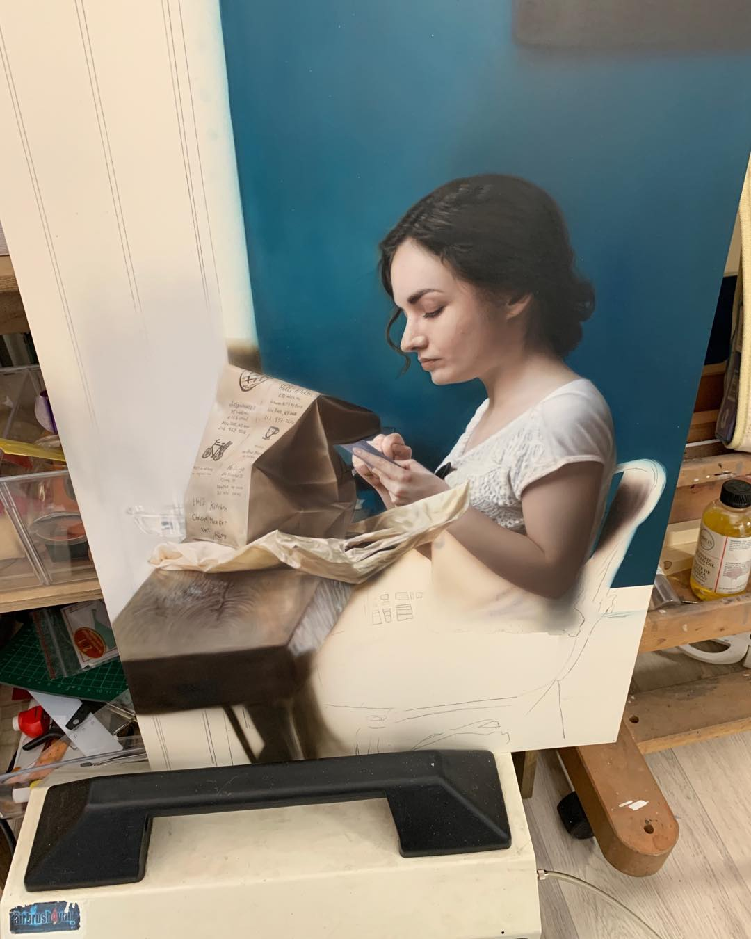 Airbrush Artist Achieves Global Fame For Her Stunning Portraits 9