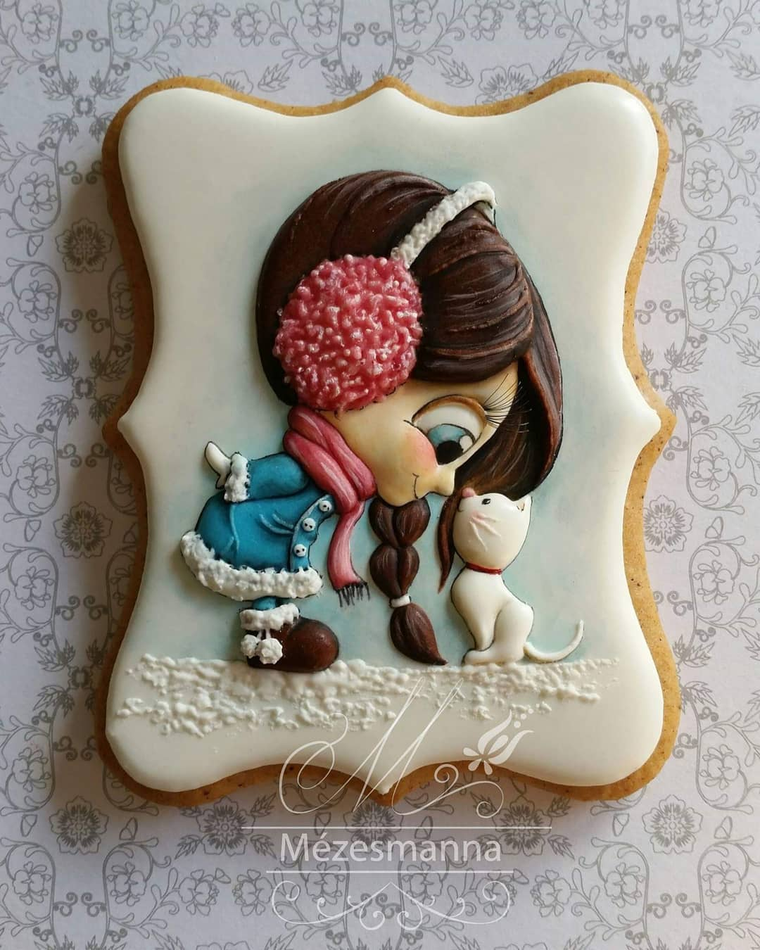 Embroidery-Inspired Cookies Of Hungarian Chef Are Fit To Be Framed, Not Eaten 1