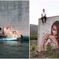 Hawaiian Street Artist Creates Artworks Espousing Climate Change