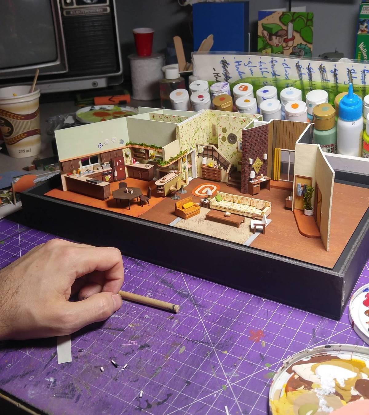 Model Maker Displays A Remarkable Eye For Detail In Making Adorable Miniature Models 1