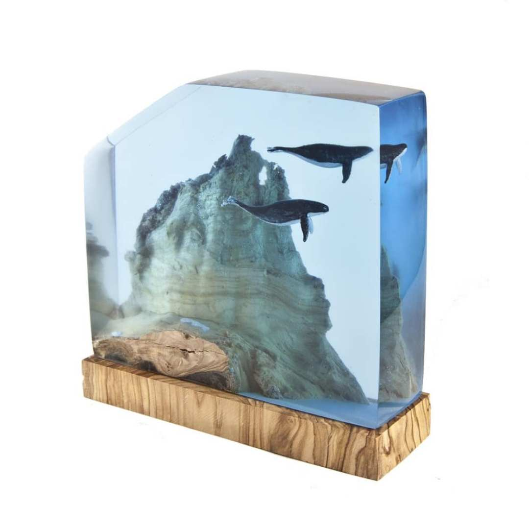 Turkish Artist Beautifully Creates Underwaters Imaginative Scenes With Resin And Wood 3