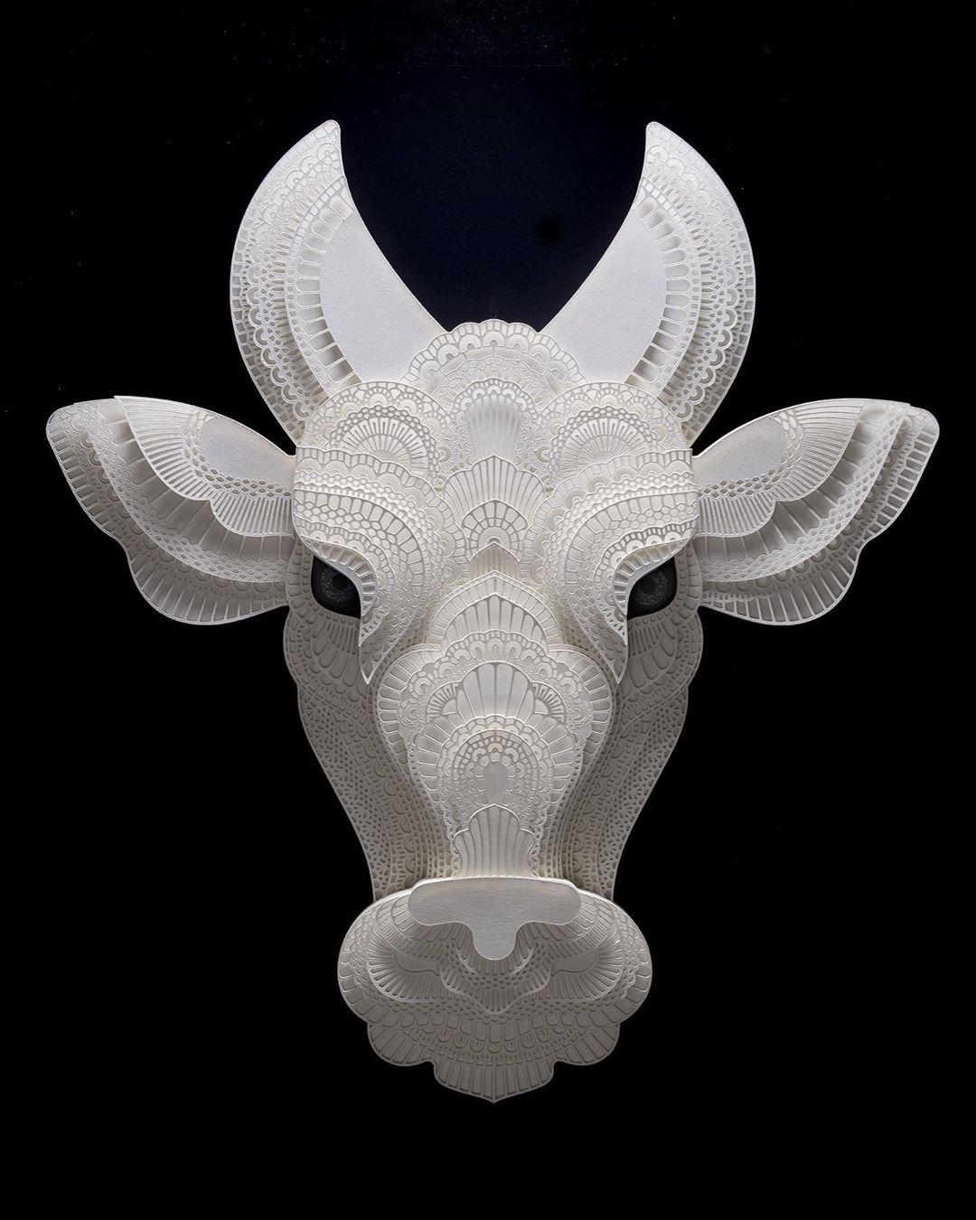 Filipino Sculptor Creates Public Awareness About Endangered Species Through Cut Paper Sculptures 4