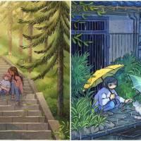 Magical Watercolor Illustrations By Heikala