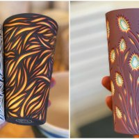 One of a Kind Hand-Carved Porcelain Pottery by Valeri Aleksandrov
