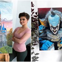American Artist Wows All with Her Stunning Oil Paintings