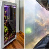 Plastic Technologist cum Scuba Diver Fabricates Excellent Acrylic Aquariums