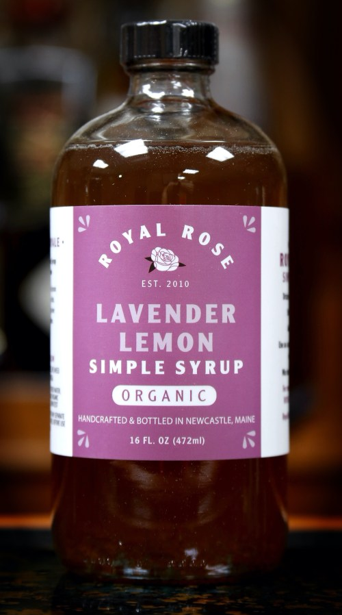 Royal Rose Lavender Lemon Simple Syrup