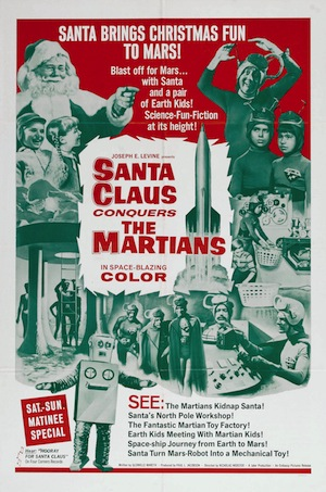 Santa Claus Conquers The Martians Poster