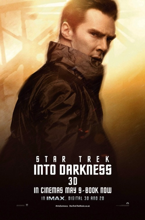 Star Trek Into Darkness Benedict Cumberbatch