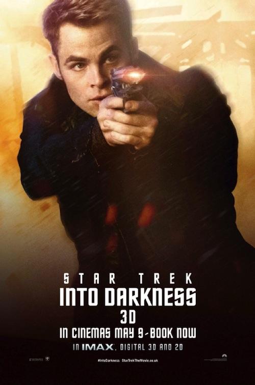 Star Trek Into Darkness Chris Pine