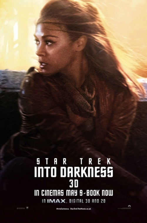 Star Trek Into Darkness Zoe Saldana